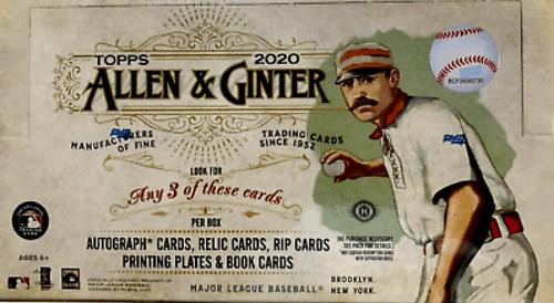 2020 Topps Allen & Ginter baseball cards