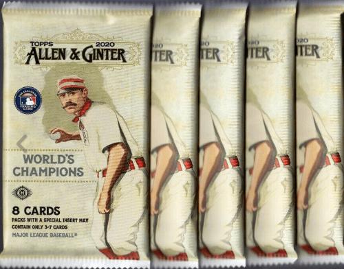 2020 Topps Allen & Ginter Packs