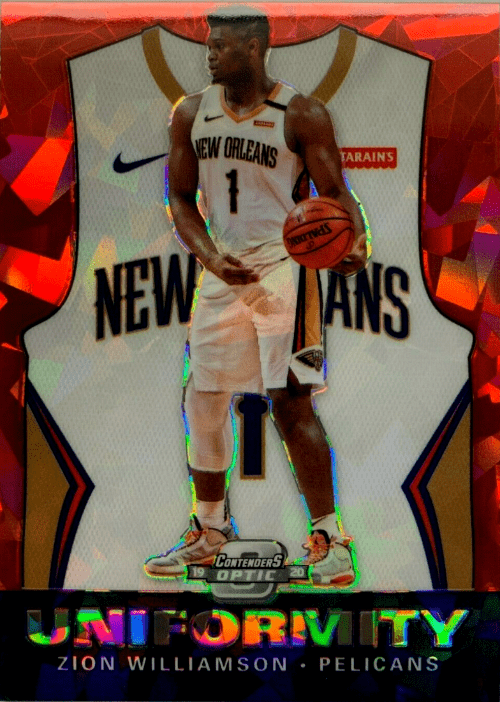 2019-20 Panini Contenders Optic Basketball Hobby Box