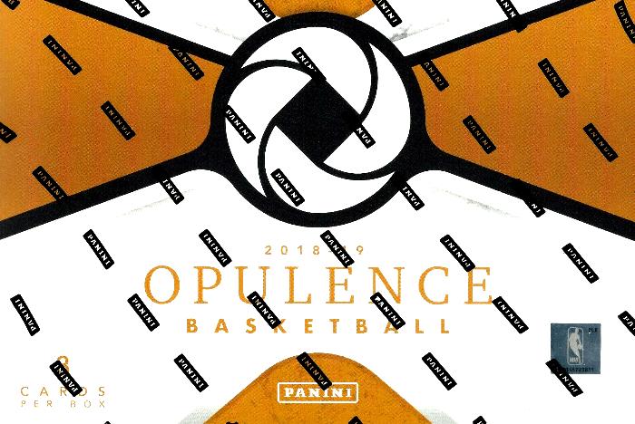 2018-19 panini opulence basketball hobby box