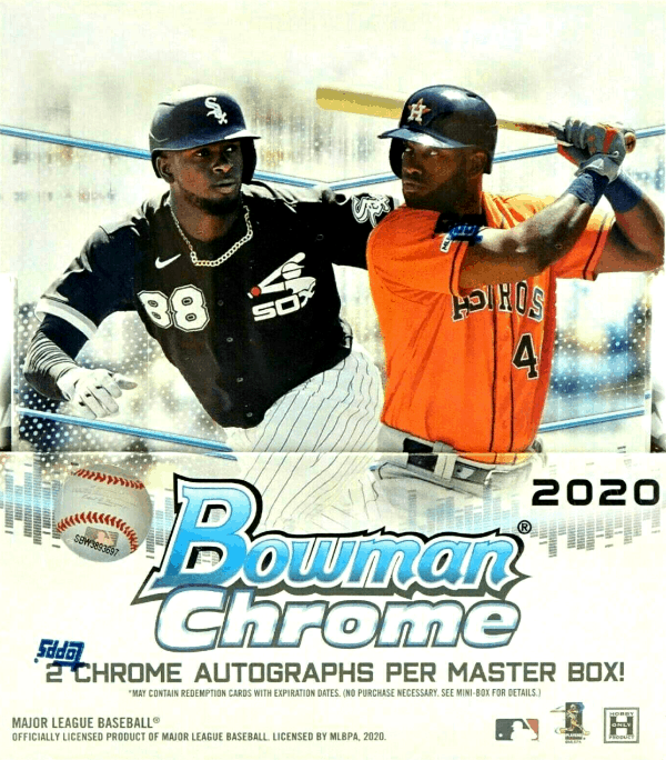 2020 bowman chrome hobby box