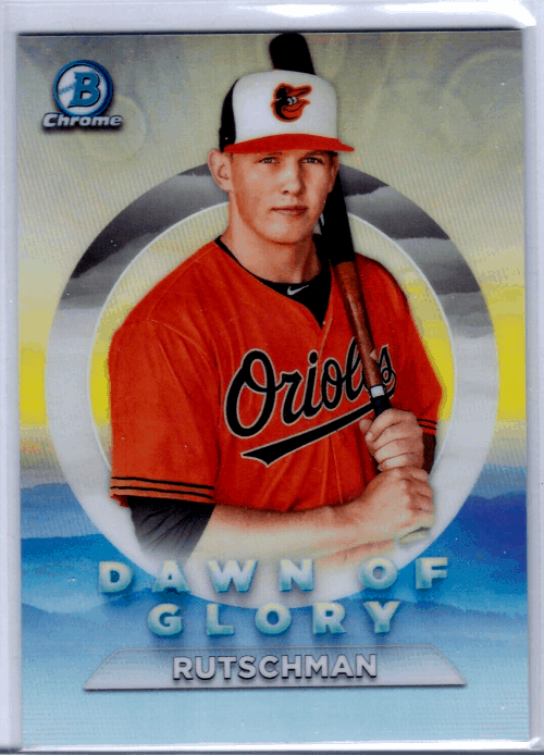 2020 Bowman Chrome Dawn of Glory Adley Rutschman