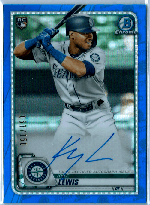 2020 Bowman Chrome Baseball Kyle Lewis
