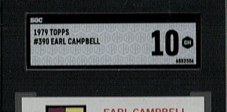 top Earl Campbell Rookie Cards