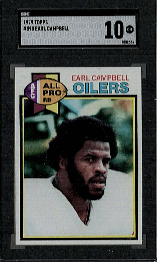 best Earl Campbell Rookie Cards