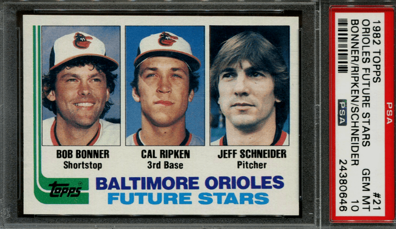 1980s Most Expensive Baseball Rookie Cards