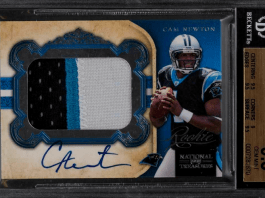 Cam Newton rookie card