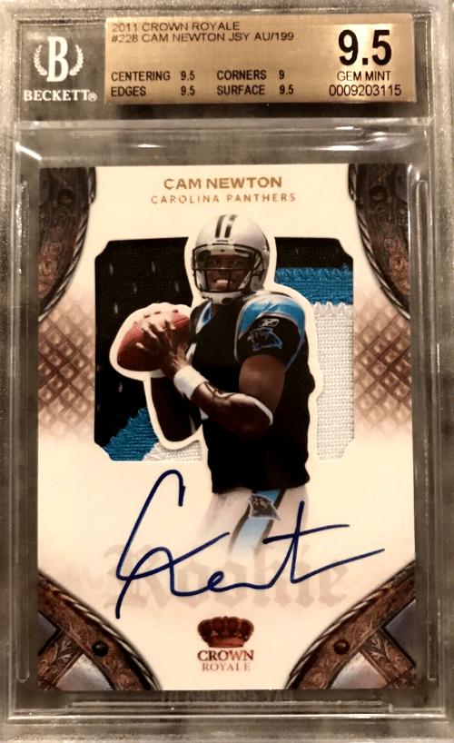 2011 Cam Newton Crown Royale