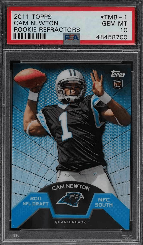 Cam Newton Rookie Card Checklist