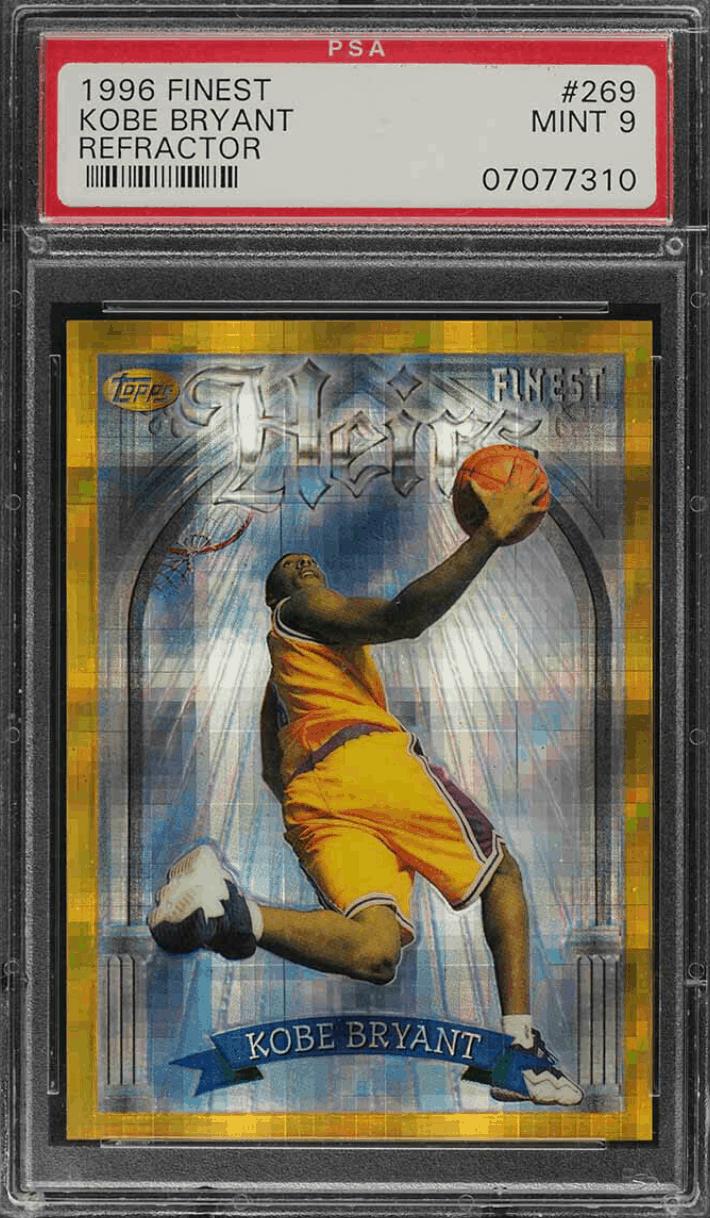 1996 Kobe Bryant Finest Gold