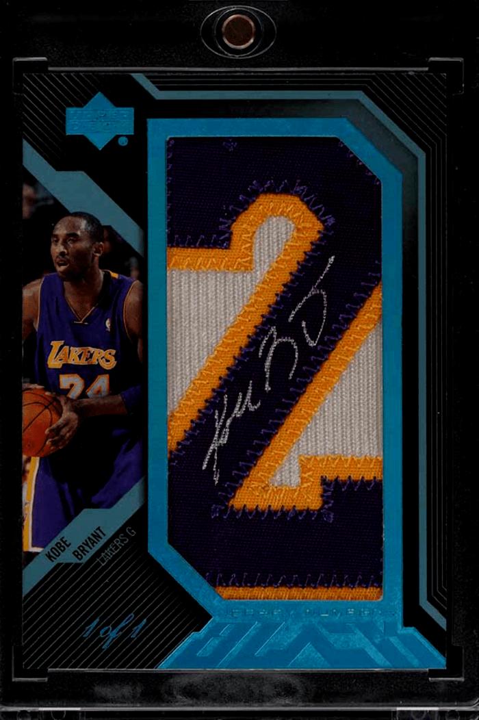 2007 Kobe Bryant Upper Deck Black Platinum