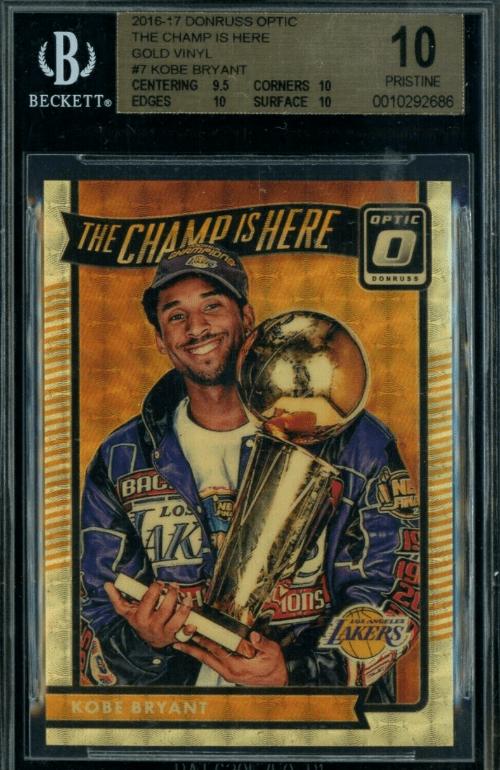 Which Kobe Prizm cards are worth money