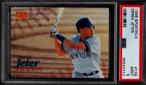 1996 Sportflix Derek Jeter Rookie Card