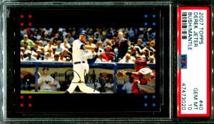 Derek Jeter Baseball Card Checklist