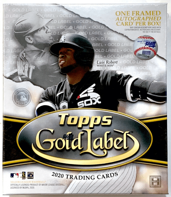2020-21 Topps Gold Label Checklist