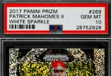 good looking patrick mahomes football cards