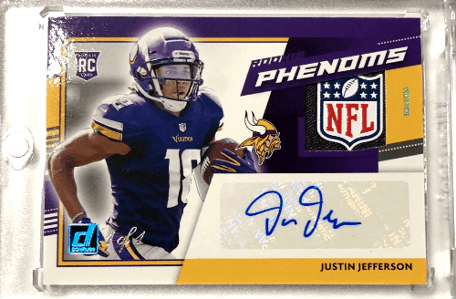 Justin Jefferson Rookie Card Value