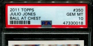 julio jones topps rookie card