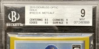 DK Metcalf Rookie Card