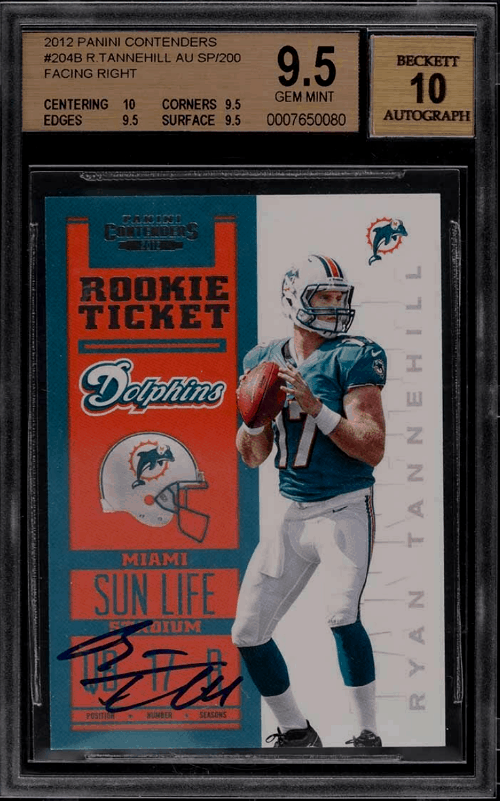 Ryan Tannehill Rookie Card Value