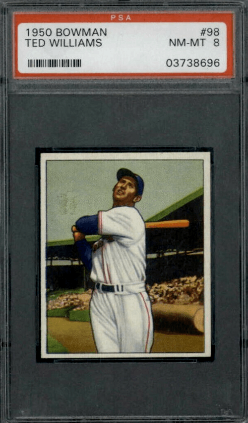 1950 Ted Williams Bowman