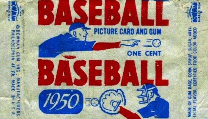 bowman baseball card history