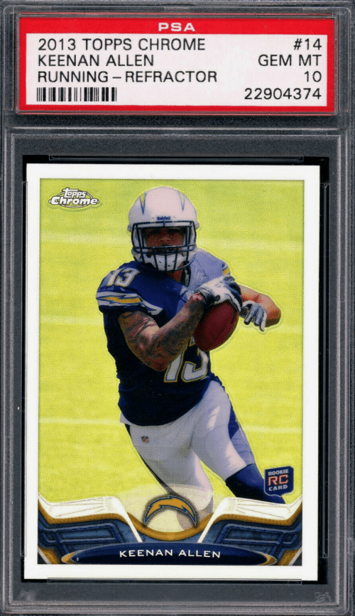 best keenan allen rookie cards