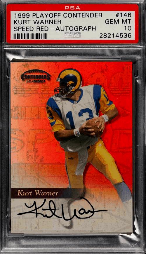 Kurt Warner Rookie Card Value