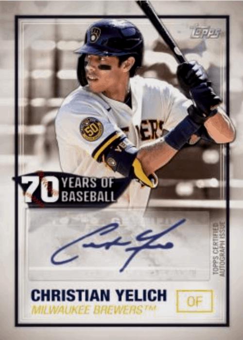 2021 Topps Series 1 Baseball Autograph Relics