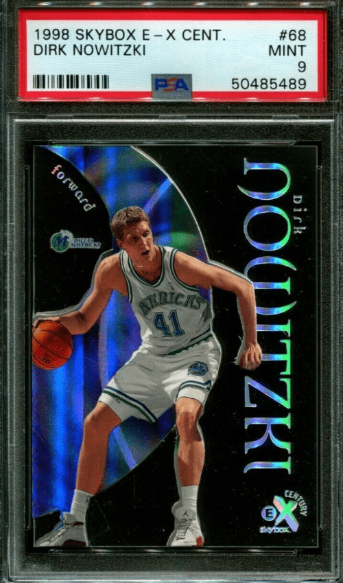 Best Dirk Nowitzki Rookie Card