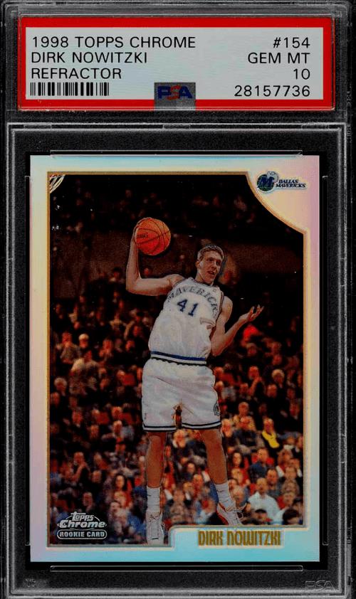 Dirk Nowitzki Rookie Card Worth