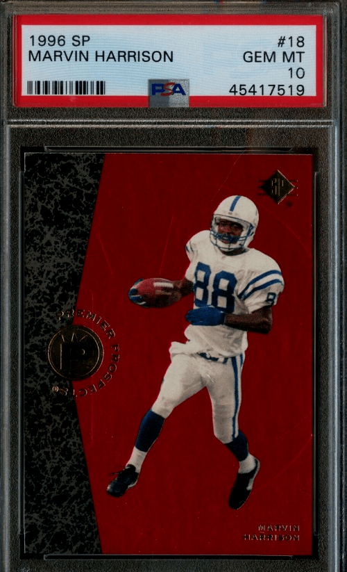 1996 Marvin Harrison SP RC