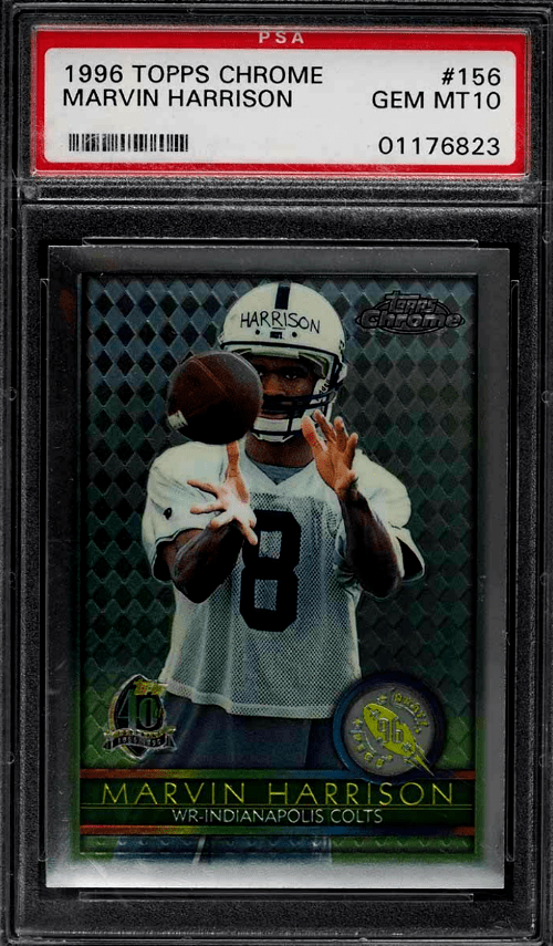 Marvin Harrison Topps rookie card
