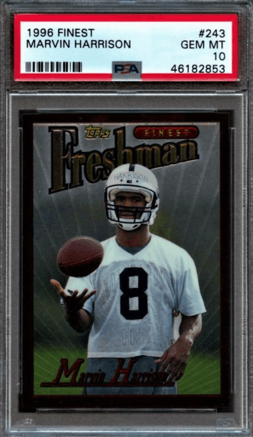 1996 Marvin Harrison Finest RC