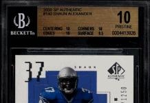 Shaun Alexander Rookie Cards