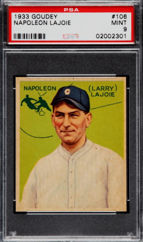 1933 Nap Lajoie Goudey