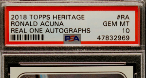 2018 topps heritage high number acuna jr