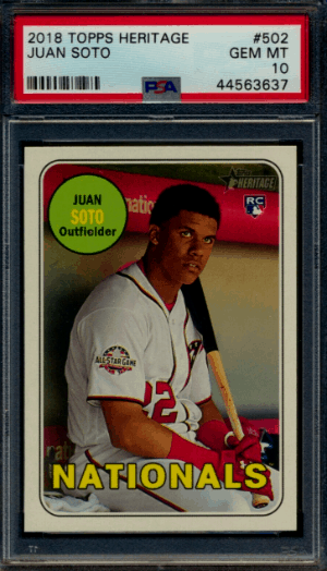 2018 Topps Heritage High Number