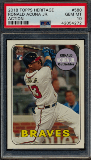 Best 2018 Topps Heritage High Number Cards