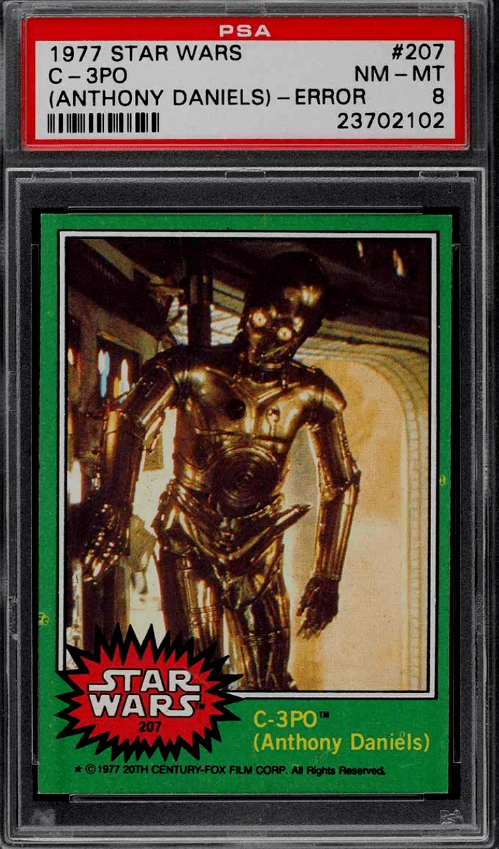 Best Star Wars Trading Cards