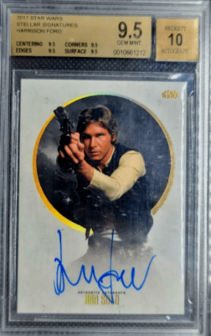 2017 Star Wars Stellar Signatures Harrison Ford