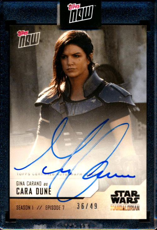 One of the hottest of all the Star Wars Trading Cards