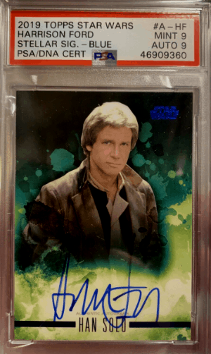 2019 Topps Star Wars Harrison Ford #AHF