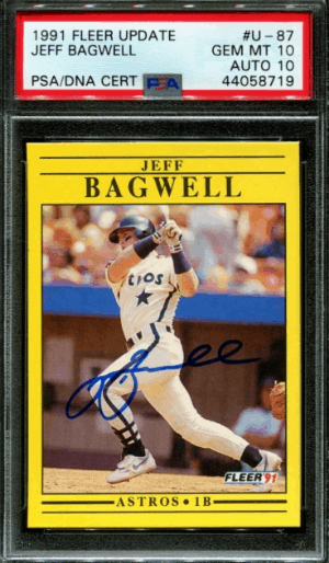Jeff Bagwell Rookie Card Value