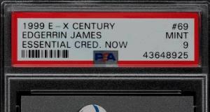 Edgerrin James E-X Century Essential Rookie Card