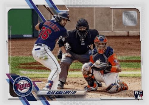 2021 Topps Series 2 Baseball design