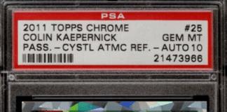 Best Colin Kaepernick Rookie Cards