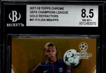 Best Mbappe Rookie Card