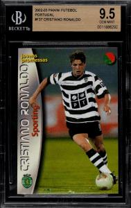 Cristiano Ronaldo Rookie Card Value