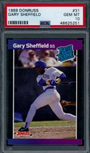 Gary Sheffield Rookie Card Checklist
